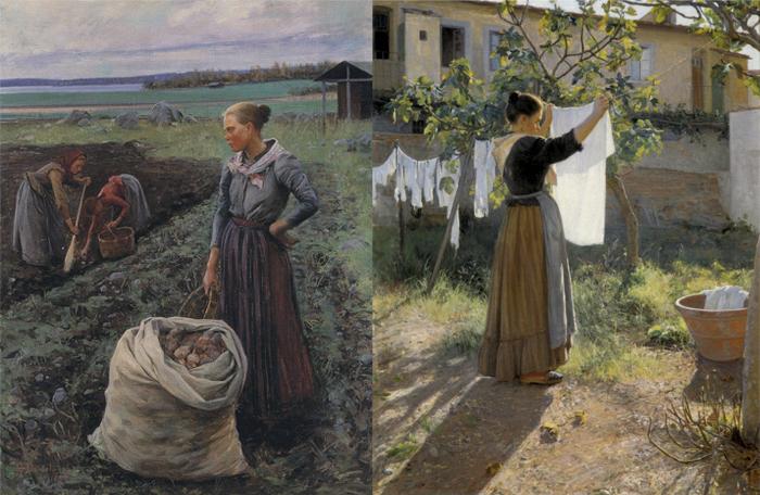 Образы крестьянок возмущали критиков.
