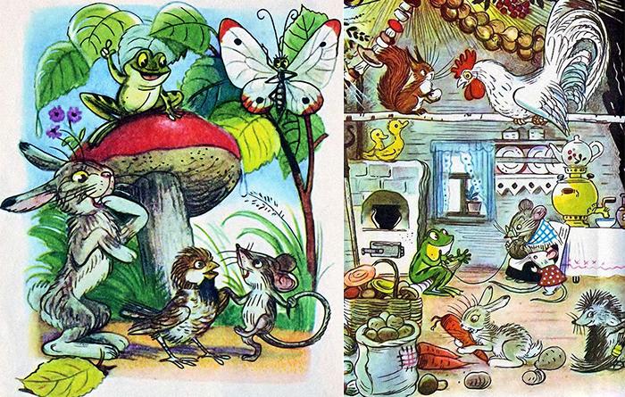 Иллюстрации Владимира Сутеева.