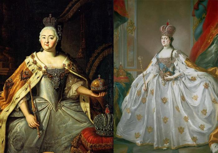 На портретах российских императриц можно увидеть украшения от Позье.
