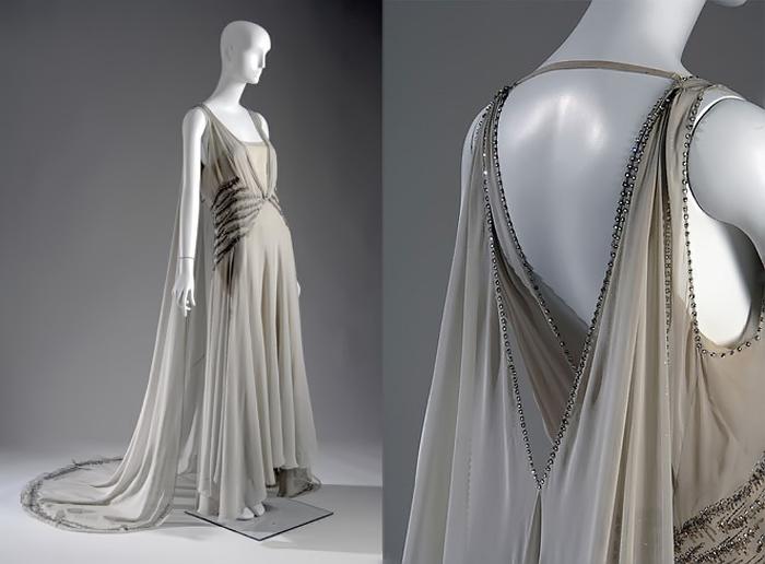 Клиентки Вионне не всегда понимали, как носить эти платья.