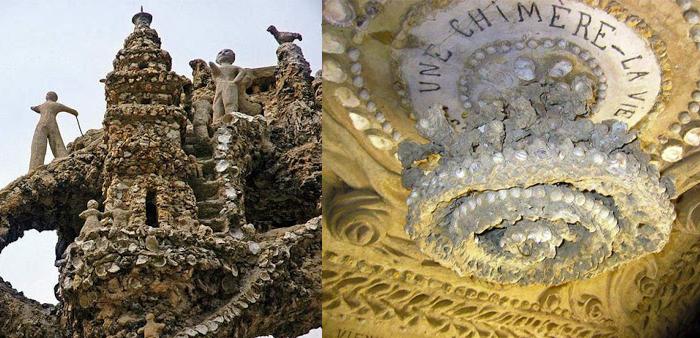 Скульптуры и люстра Идеального Дворца.