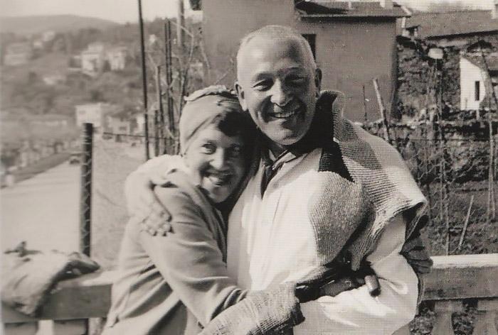 Марианна и ее берлинский друг Санто.