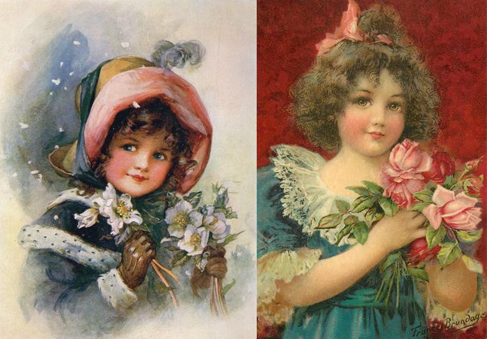 Фрэнсис стала знаменитой благодаря портретам милых малюток.
