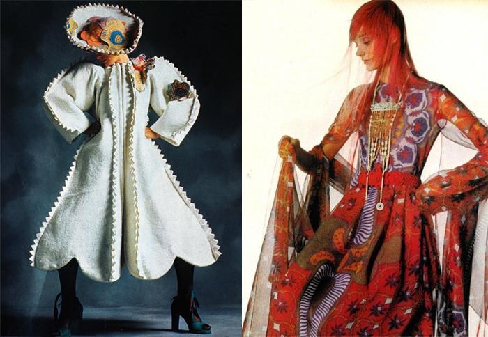 Экстравагантные наряды от Зандры.