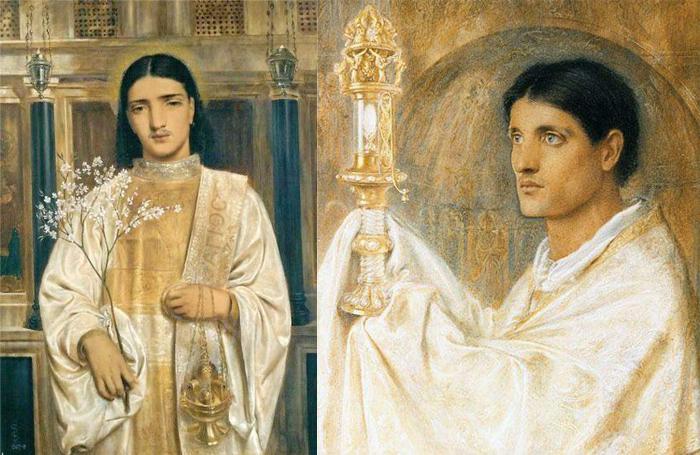 Религиозные мотивы Соломон трактовал в ключе своих мистических взглядов.