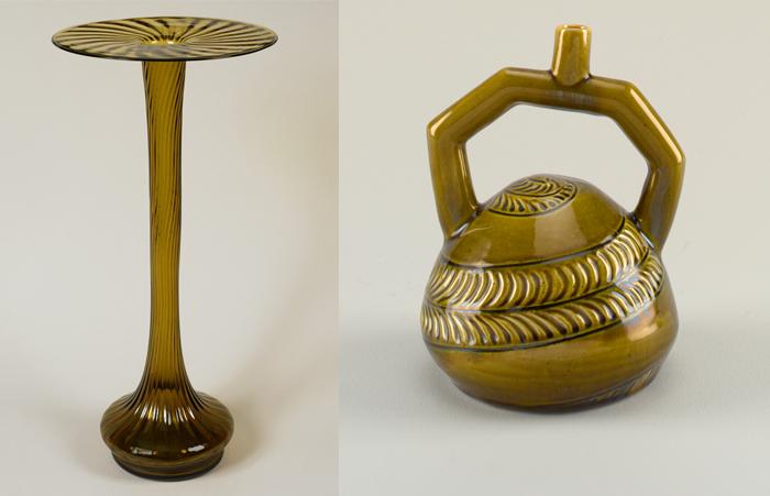 Керамические изделия по эскизам Дрессера.
