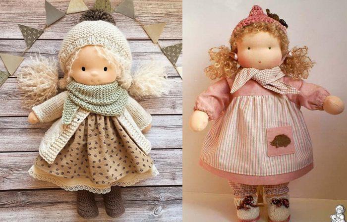 Вальдорфские куклы.