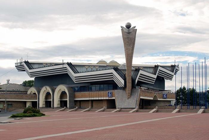 Выставочный комплекс Ленэкспо.