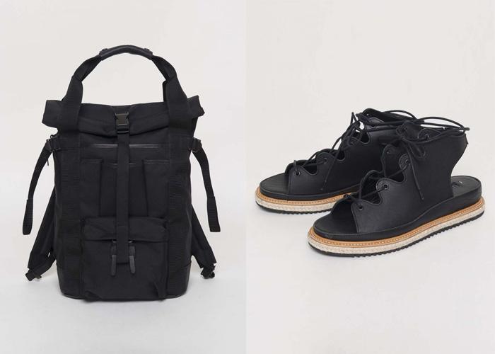 Ямамото создает также обувь и аксессуары.
