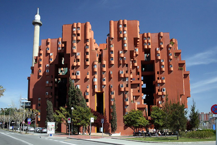 Жилой комплекс WALDEN 7 в Барселоне.
