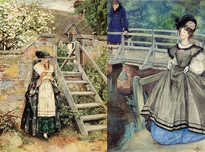 Элеанор иллюстрировала и современные литературные произведения.