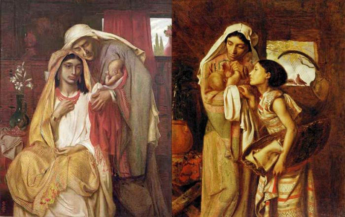 Сюжеты древнееврейской истории.