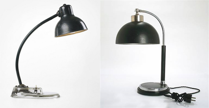 Настольные лампы.