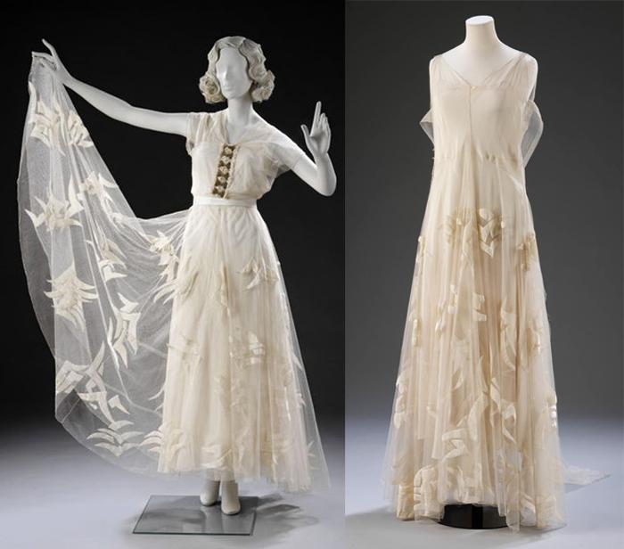 Платья от Мадлен Вионне.