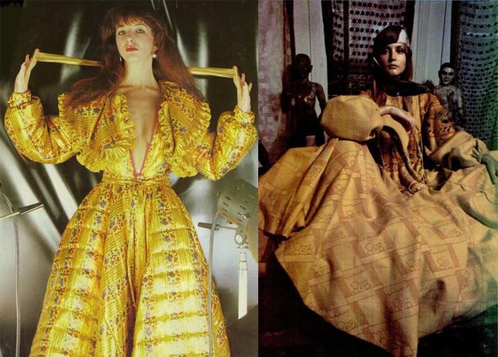 Сегодня наряды от Зандры - предмет коллекционирования.