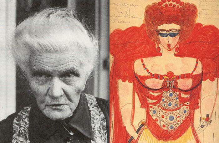 Поцелуй безумия: Страстные картины художницы, которая провела всю жизнь в психиатрической клинике