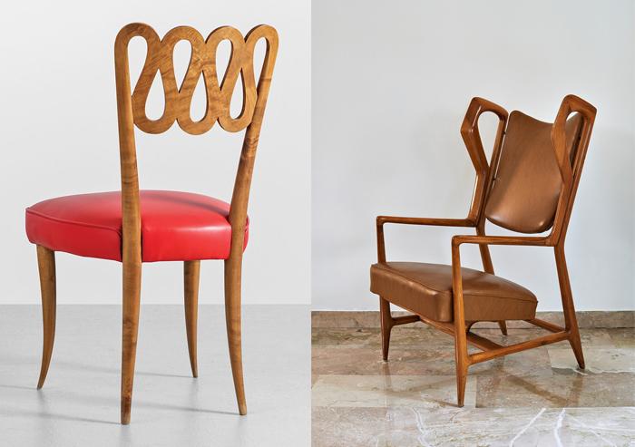 Ультралегкие деревянные стулья.
