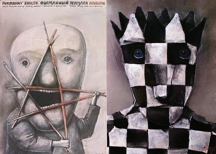 Плакаты Стасиса Эйдригевичюса.