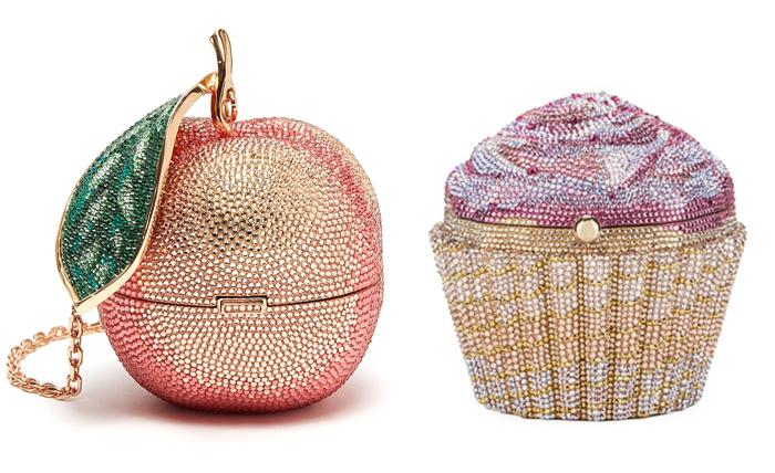 Сумочка-яблоко и сумочка-пирожное от Лейбер.