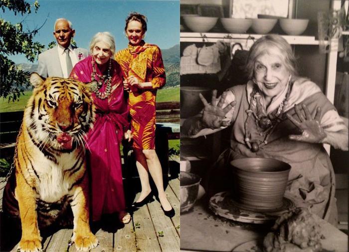 Беатрис Вуд прожила долгую жизнь и всегда оставалась творчески активной.