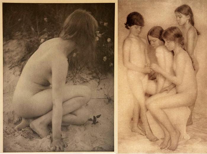 Обнаженные люди на фотографиях Боутон словно не принадлежат нашему миру.