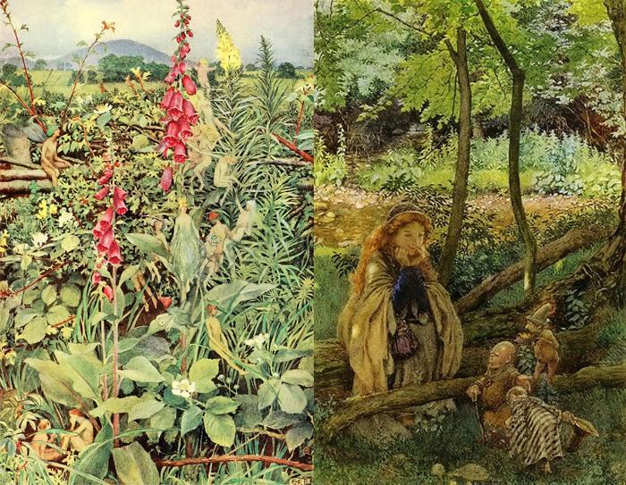 Акварели Элеанор вызывали восторг у коллекционеров.