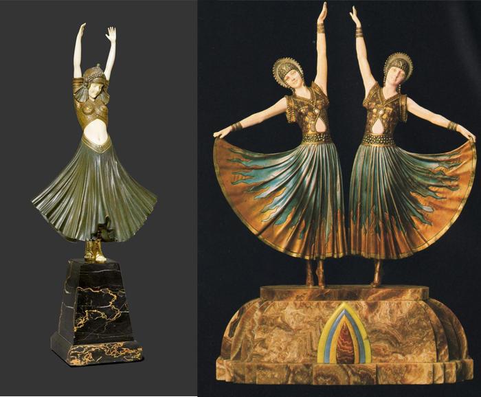Египетские танцовщицы Чипаруса.