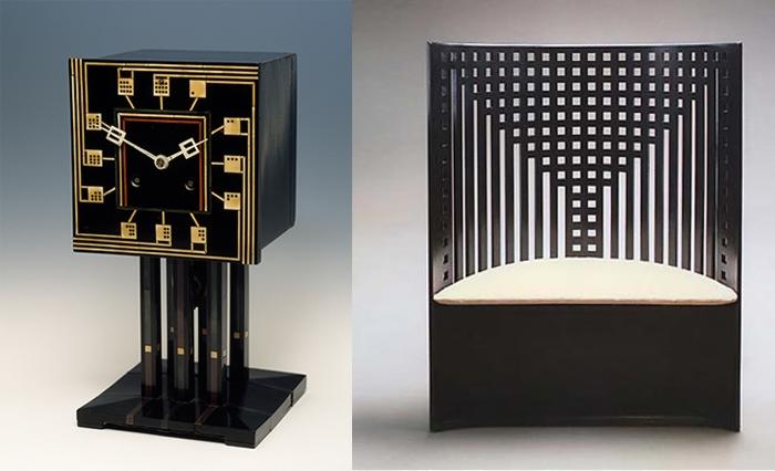 Мебель и часы Макинтоша.