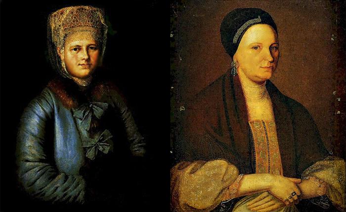 Портрет купчихи с муфтой. Портрет кашинской купчихи Ждановой.