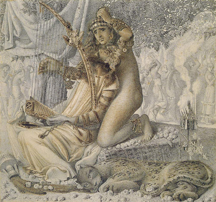 Древневосточные мотивы Соломон смешивал с древнегреческими.