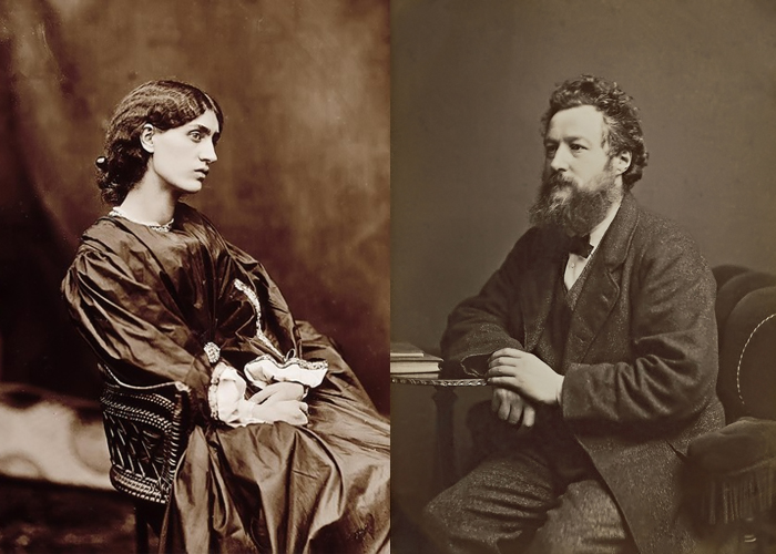 Уильям Моррис полюбил девушку из бедной семьи, которая воплощала для него идеал средневековой женщины.