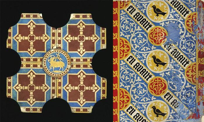 Орнаменты, разработанные Огастесом Пьюджином.