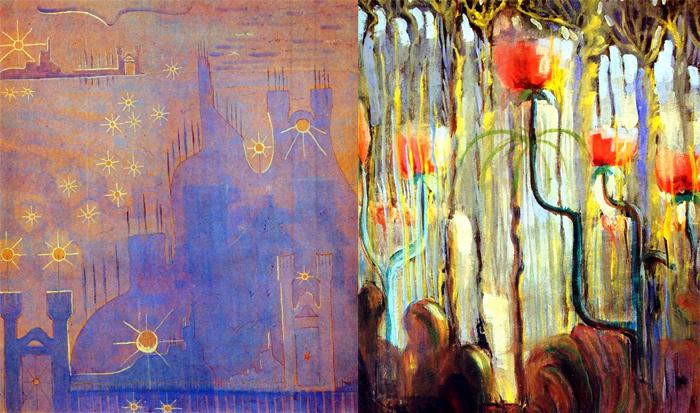 Чюрленис стремился найти способ выражения чувств и нашел его в живописи.