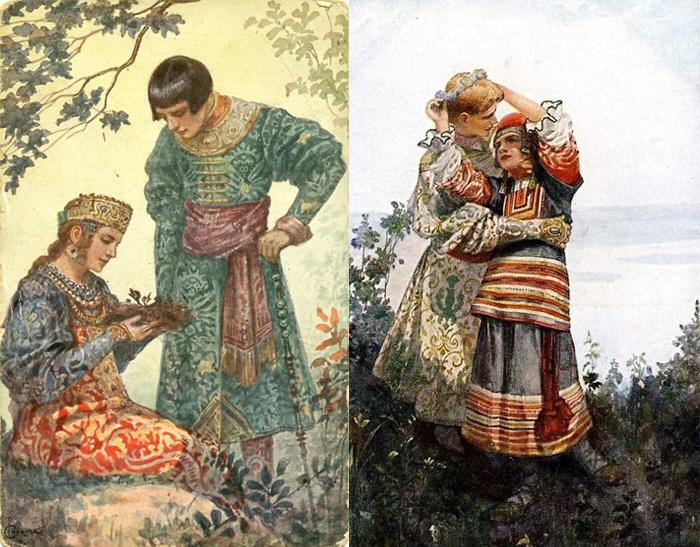 Соломко сам придумывал костюмы на основе исторических.