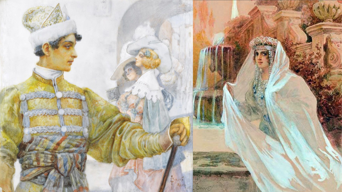 Сказочные иллюстрации Соломко.