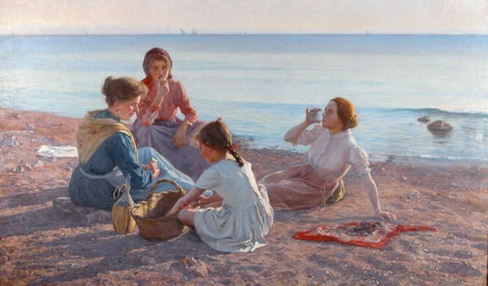 Пикник на пляже.