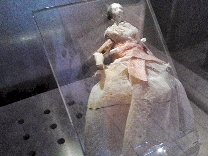 Кукла Патти Рид - дочери главы переселенцев Джеймса Рида.
