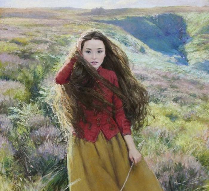 Грозовой перевал. Пейзажи - важная часть иллюстраций и некоммерческого творчества художника.