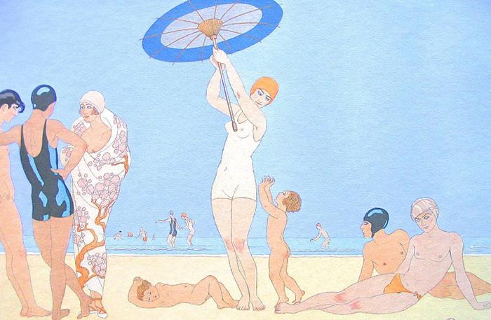 Рисунки Барбье прославляли красоту и утонченность.