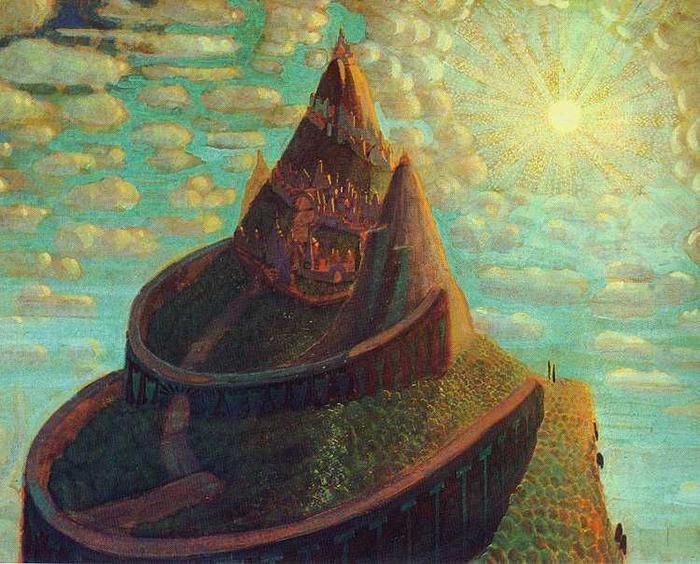 Мистические зиккураты, вдохновленные древними культурами.