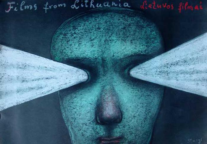 Странный стиль Стасиса оценили польские плакатисты.