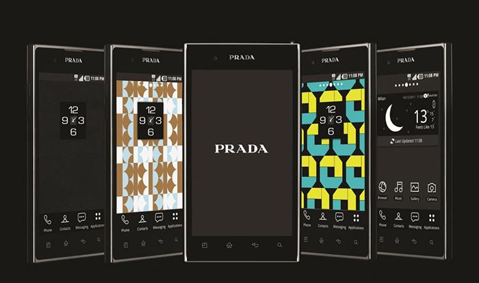 Смартфон с дизайном Prada.