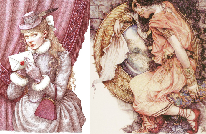 Волшебство в коробке с карандашами: Сказочные иллюстрации Анны Ивонн Гилберт