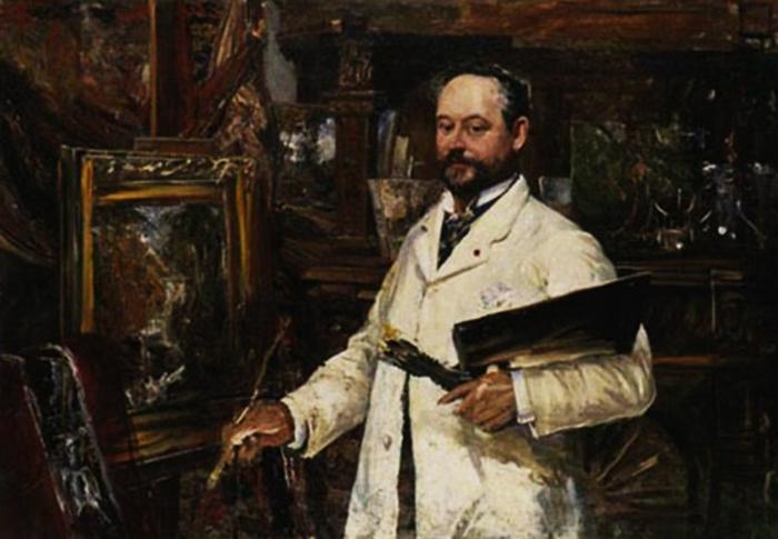 Портрет художника Альфреда Вальберга.