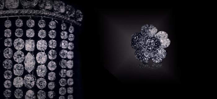 Бриллиантовые украшения от Бушерона.