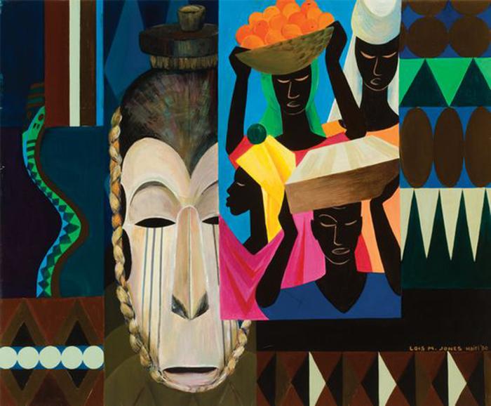 Лоис вдохновлялась культурой Африки.