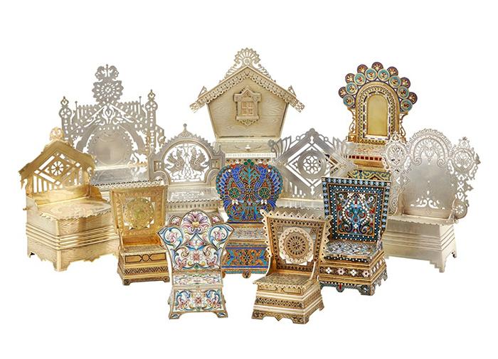 Изделия в русском стиле.