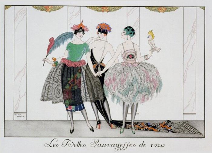 Иллюстрация Жоржа Барбье.