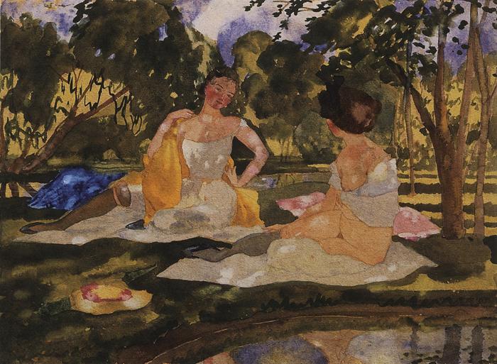 Сомов считал эротизм основой искусства.