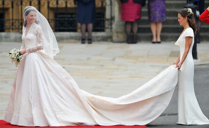 Свадебное платье Кейт Миддлтон.
